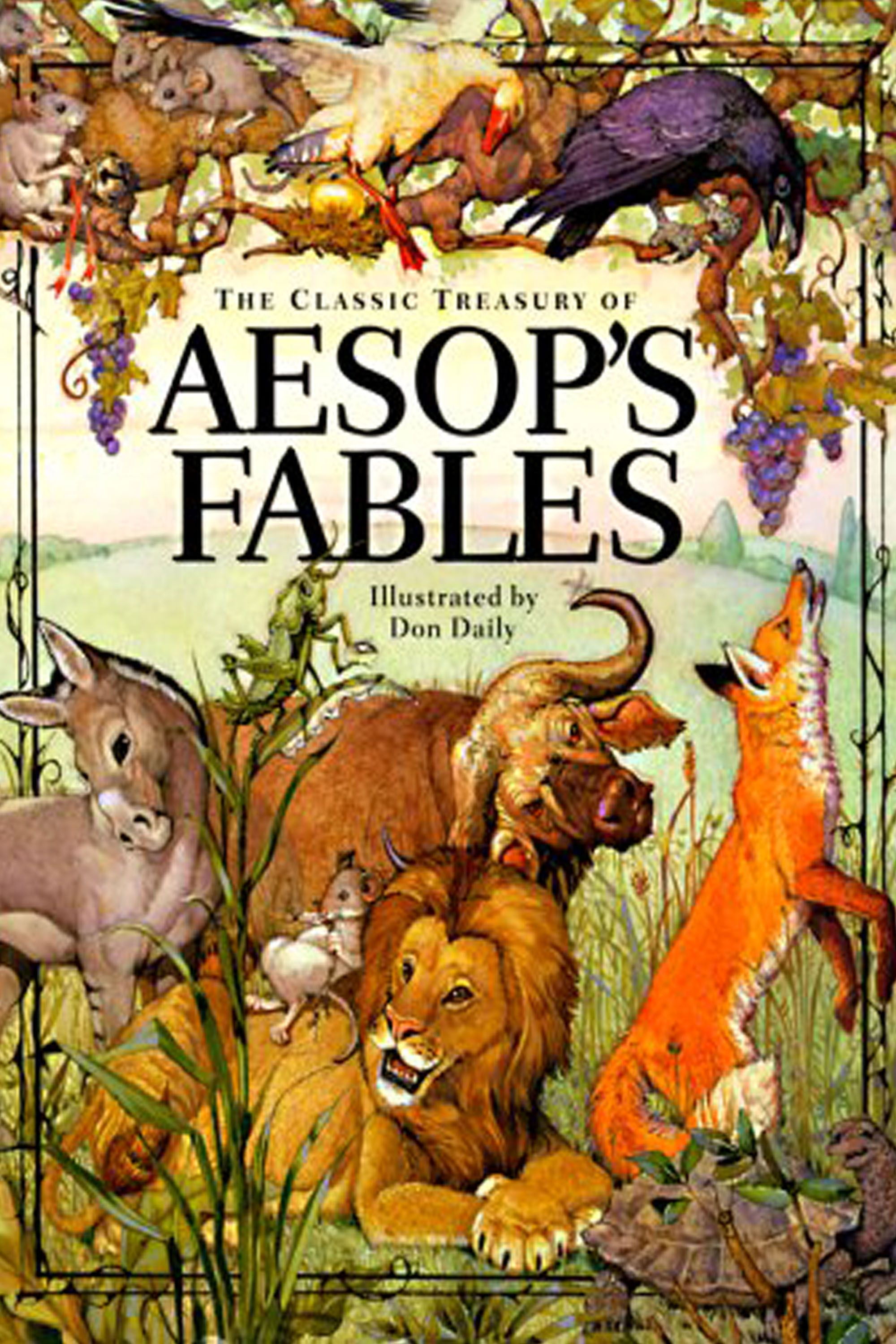 "<p>I grew up with these Greek fables. There is still great wisdom in this slim collection populated by lions, foxes, wolves, fishermen, and the like, offering apt and digestible lessons such as ""The loudest quarrels are often the most petty"" and ""Men often mistake notoriety for fame."" My favorite, ""The Dog and the Shadow,"" advises thus: ""Grasp at the shadow and you will lose the substance."" Might it be wise to consume one of these bite-sized tales at the start of each day? </p>"