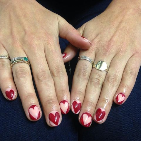 20 Easy Valentines Day Nail Art Designs Cute Valentines Day
