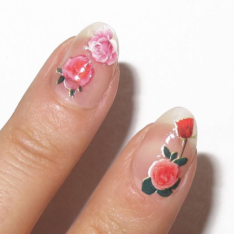 20 easy valentines day nail art designs cute valentines day manicures we love - Valentines Nail