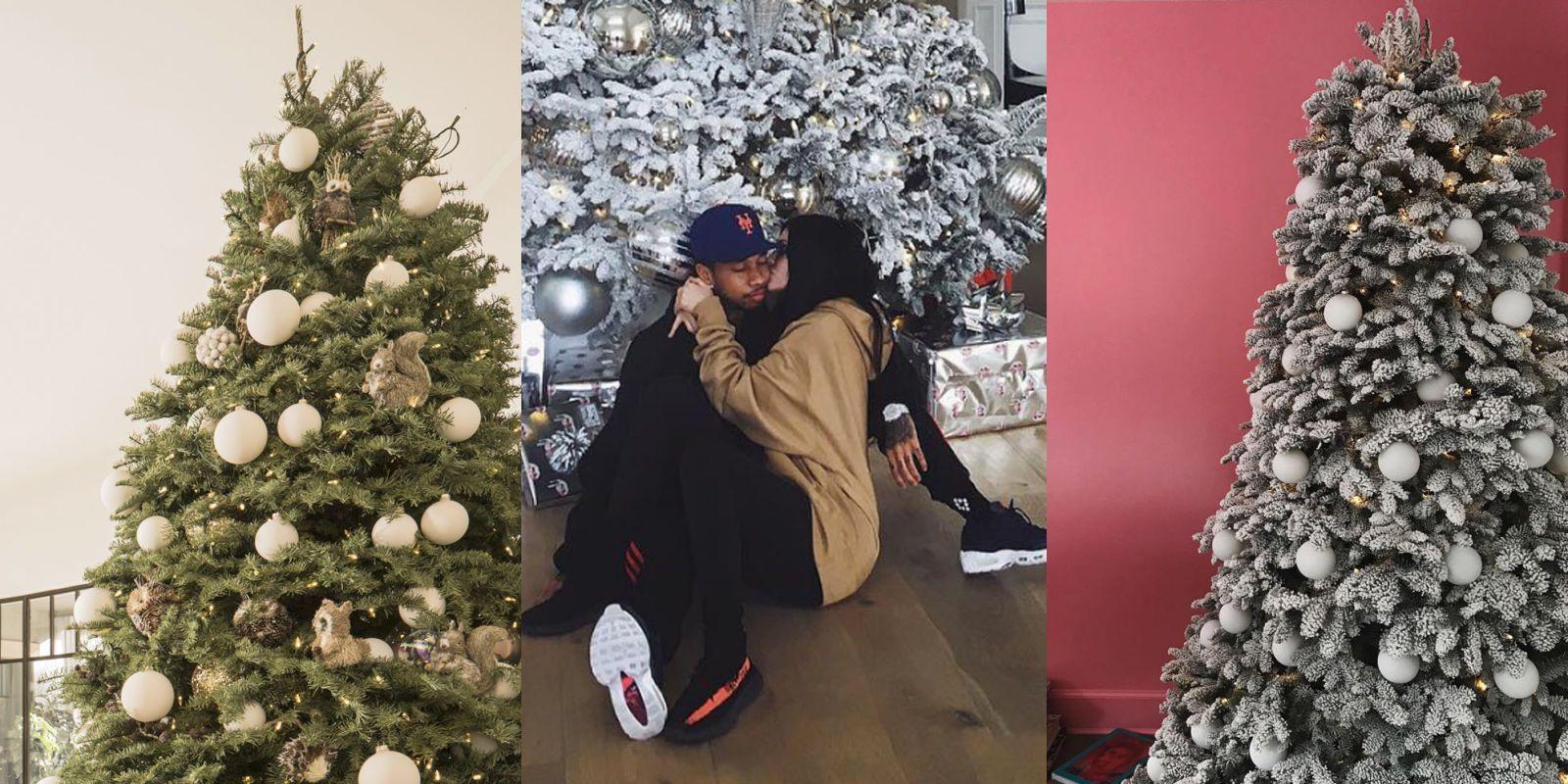 Kylie Jenner, Kendall Jenner and Kim Kardashian's Christmas Trees ...