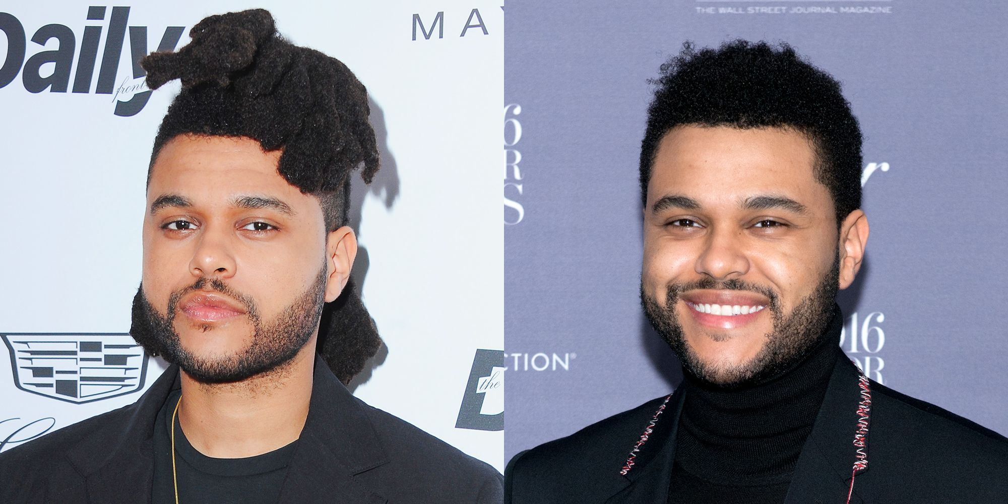 """<p>In September, Abel Tesfaye&nbsp&#x3B;debuted&nbsp&#x3B;the&nbsp&#x3B;album art for&nbsp&#x3B;<em data-redactor-tag=""""em"""">Starboy&nbsp&#x3B;</em>without his signature dreads.&nbsp&#x3B;<span class=""""redactor-invisible-space"""" data-verified=""""redactor"""" data-redactor-tag=""""span"""" data-redactor-class=""""redactor-invisible-space""""></span><strong data-redactor-tag=""""strong"""">MF-ing SHOOK!!!</strong></p>"""