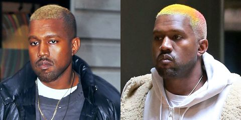 "<p>Yeezus emerges from his brief November hospitalization with Kylie's October hair look. His latest experimentation in bleach features flashes of pink and yellow Starburst.&nbsp; What does it <em data-redactor-tag=""em"" data-verified=""redactor"">mean</em>?&nbsp;<strong data-redactor-tag=""strong"">Shook with concern.</strong><span class=""redactor-invisible-space"" data-verified=""redactor"" data-redactor-tag=""span"" data-redactor-class=""redactor-invisible-space""></span></p>"