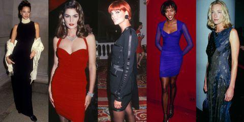 Dress, Eye, Human body, Shoulder, Red, Joint, Formal wear, Waist, Cocktail dress, Fashion,