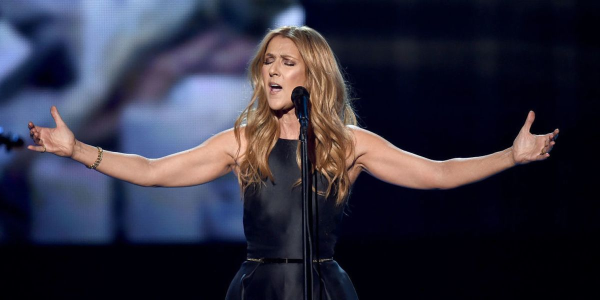 """You Should Probably Listen to Celine Dion Cover Adele's """"Hello"""""""