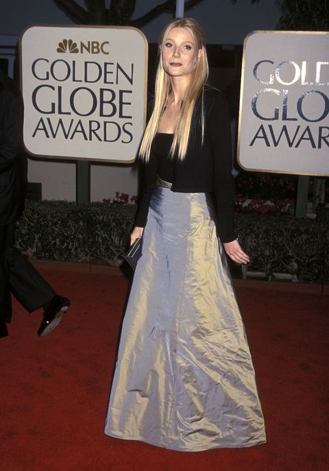 <p>While Gwyneth Paltrow makes a great case for a tiny cardigan, she has no doubt since learned that shiny satin on the red carpet can be a bit of a wrinkled nightmare. </p>