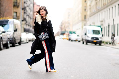 Road, Street, Style, Street fashion, Bag, Van, Truck, Active pants, Scarf, Ankle,