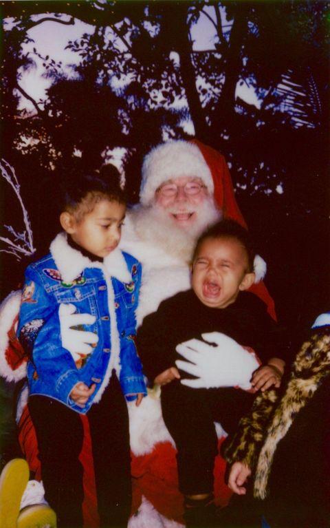 Nose, Human, Mouth, Eye, Human body, Santa claus, Mammal, Child, Facial hair, Holiday,
