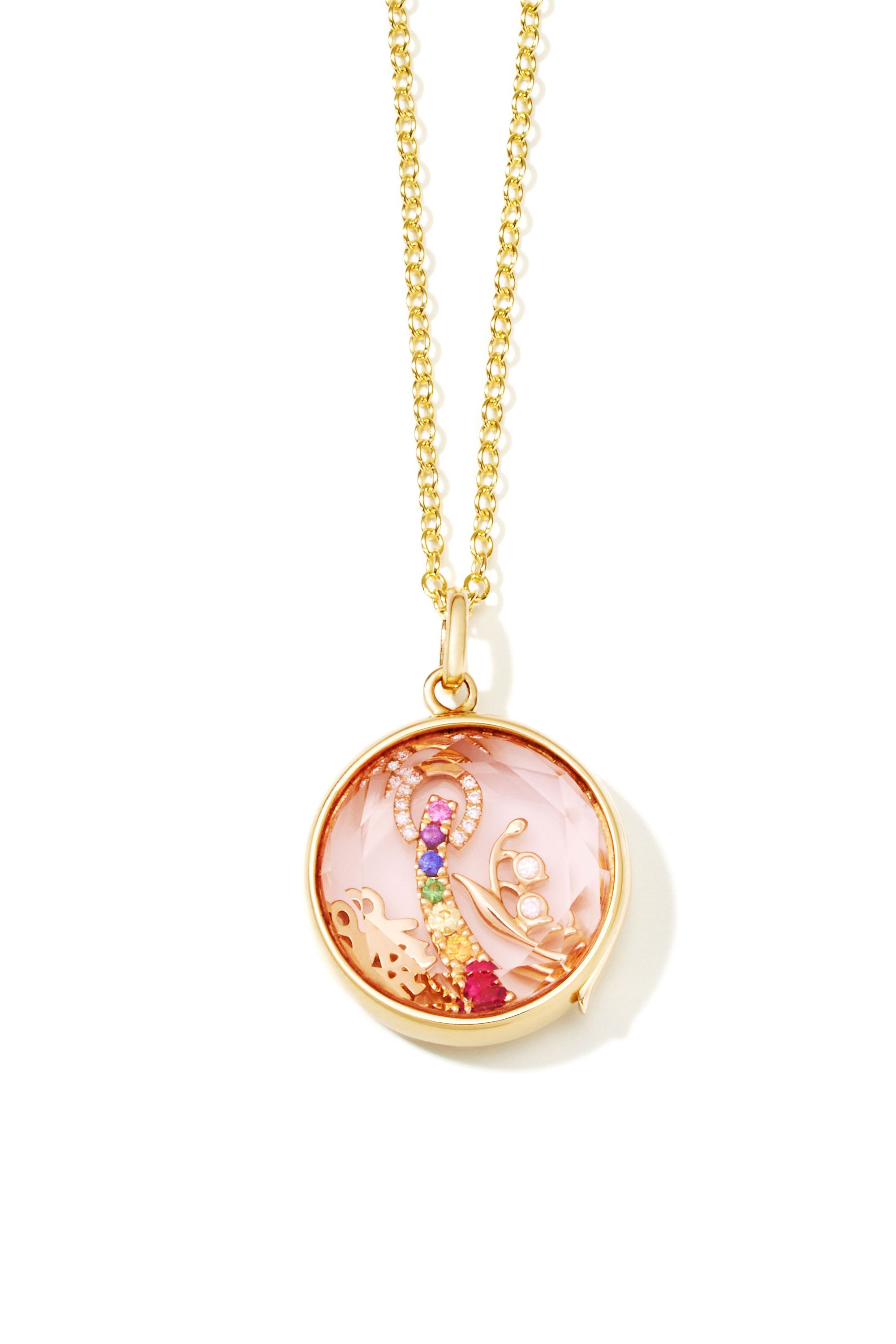 product img floating breastmilk photo locket jewellery pendant