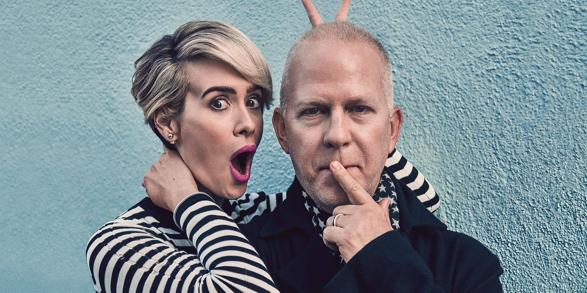 Sarah Paulson & Ryan Murphy Interview - American Horror Story Actress and Director on Collaboration