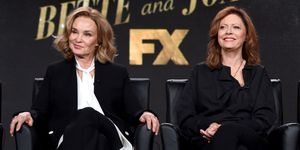 Jessica Lange and Susan Sarandon promoting Feud at TCA Press Tour 2017