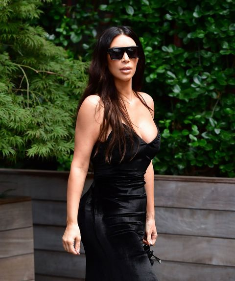 7cd75841e77a image. Getty Images. Kim Kardashian, who made her street style return last  week in jeans so ripped ...