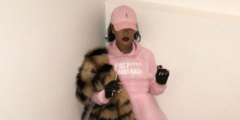 Rihanna's Protest Fashion Is Perfection