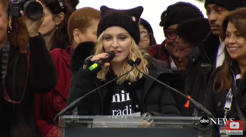Here's the Full Transcript of Madonna's Speech at the Women's March