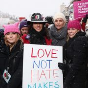 Chelsea Handler at the Park City Women's March