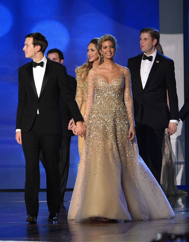 Ivanka Trump Wore Carolina Herrera To The Inaugural