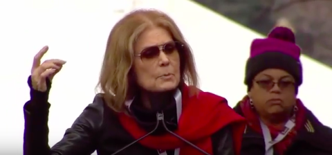 Here's the Full Transcript Of Gloria Steinem's Historic Women's March Speech