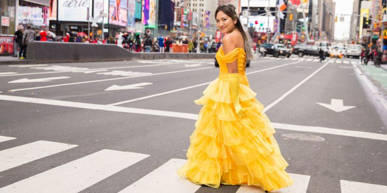 I Wore The Belle Dress For A Day In New York