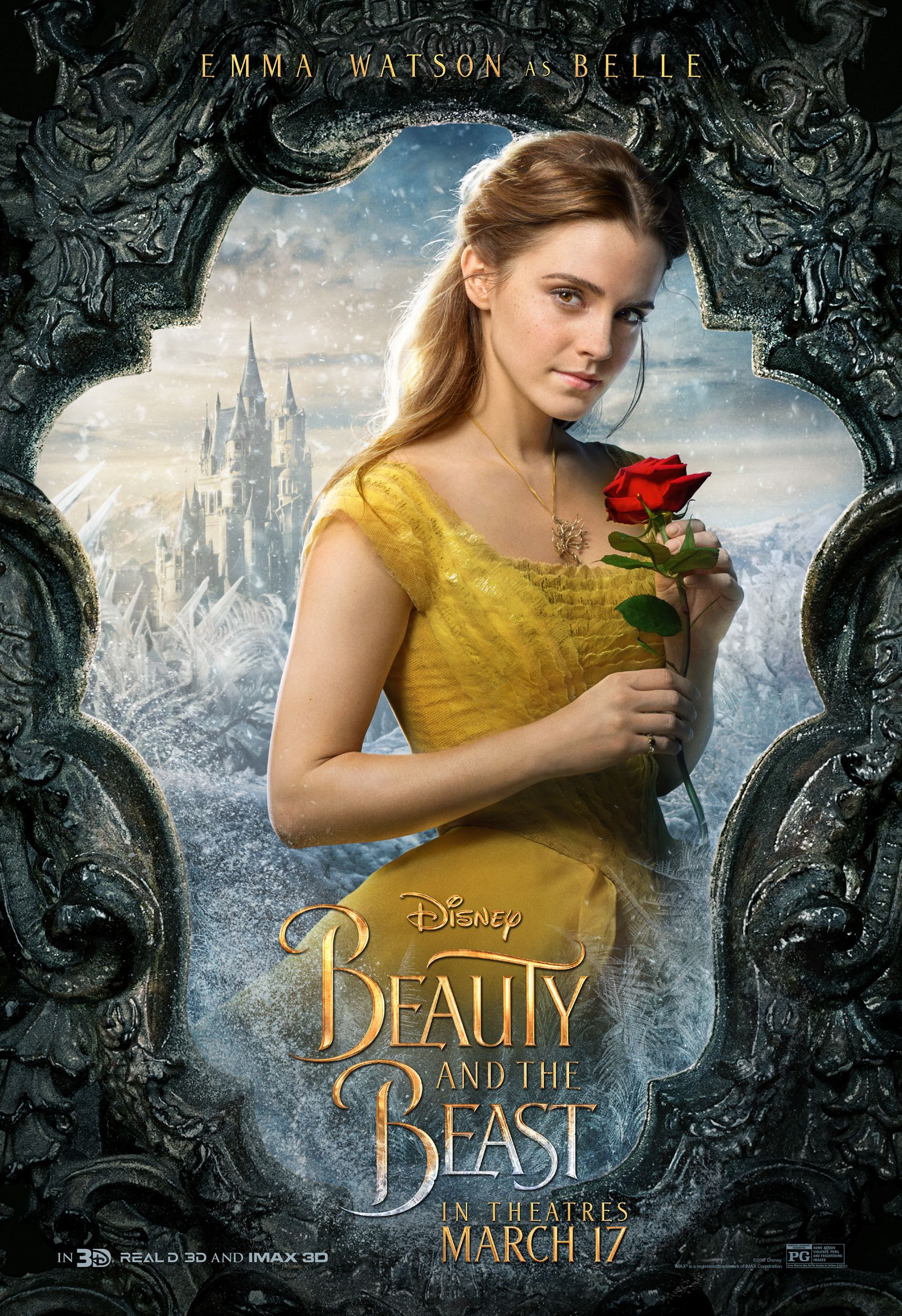What The Beauty And The Beast Cast Looks Like In Character Emma