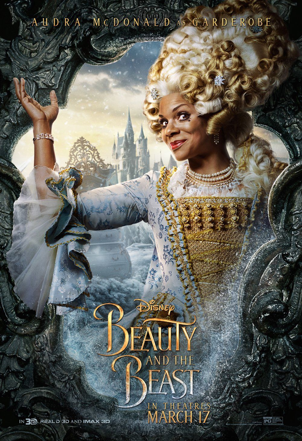 Audra Mcdonald Is Everything In The Beauty And The Beast Posters