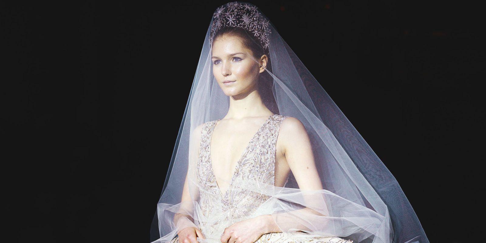 Most Sparkly Wedding Dress