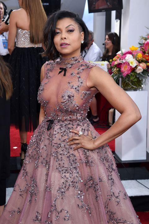 Taraji P. Henson Wore a Magnificent Naked Princess Dress