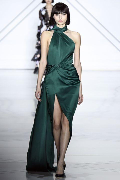 Clothing, Leg, Dress, Human leg, Shoulder, Joint, One-piece garment, Formal wear, Style, Waist,