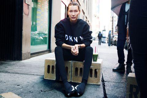 Bella Hadid x DKNY