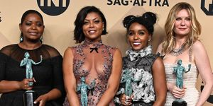 Hidden Figures cast at SAG Awards