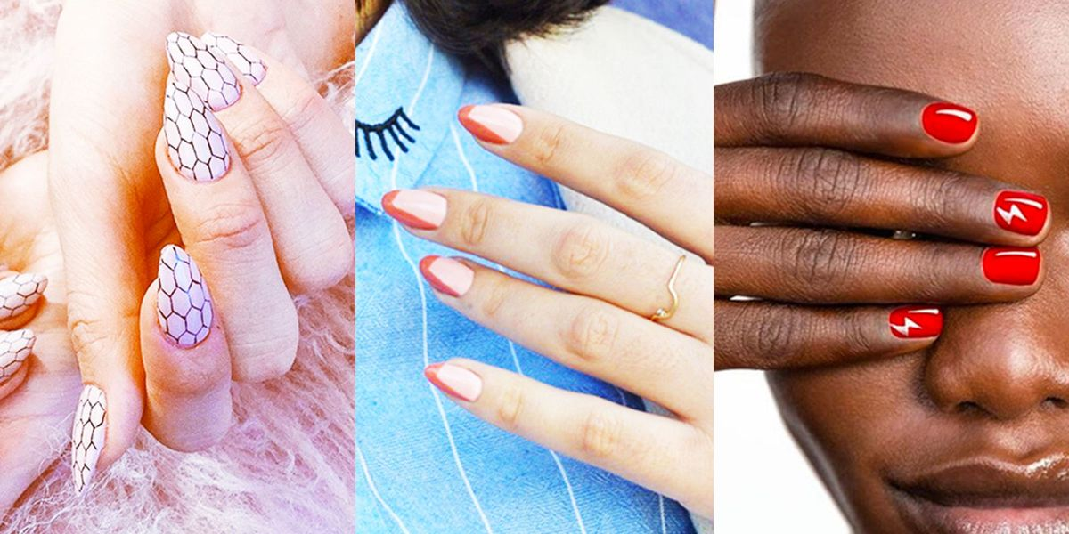 7 Different Nail Shapes Round Square Oval Almond And More Nail