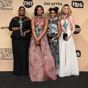 Hidden Figures cast at SAG Awards