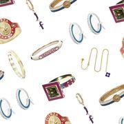 Magenta, Oval, Body jewelry, Silver, Gemstone,