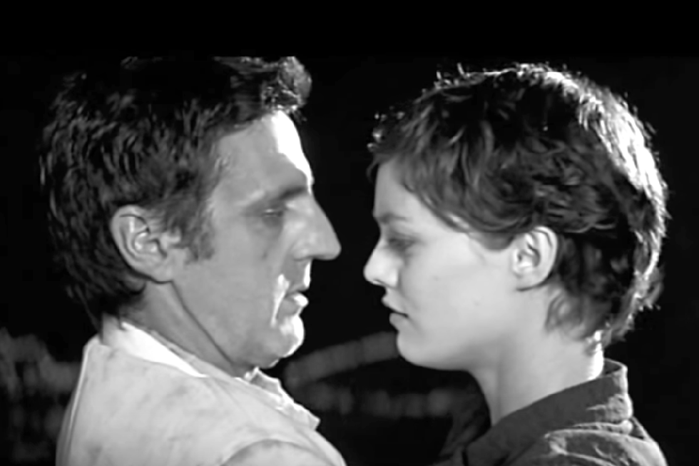 The Girl on the Bridge (2000) Knife-throwing became hot, thanks to this French film starring Vanessa Paradis and Daniel Auteuil. Paradis plays the beautiful but tormented Adele, who attempts suicide only to be saved by professional knife-thrower Gabor (Auteuil), who suggests she become his assistant—if he misses, she'll get stabbed and die as she had wished, right?