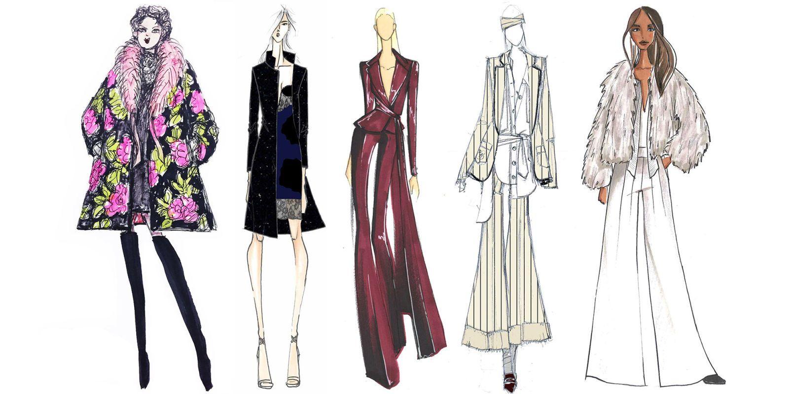 Adobe Illustrator Flat Fashion Sketch Templates - My 62