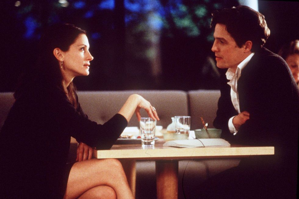 "Notting Hill (1999) ""I'm also just a girl, standing in front of a boy, asking him to love her."" Man, why does that cheesy line always get the tear ducts flooding?"