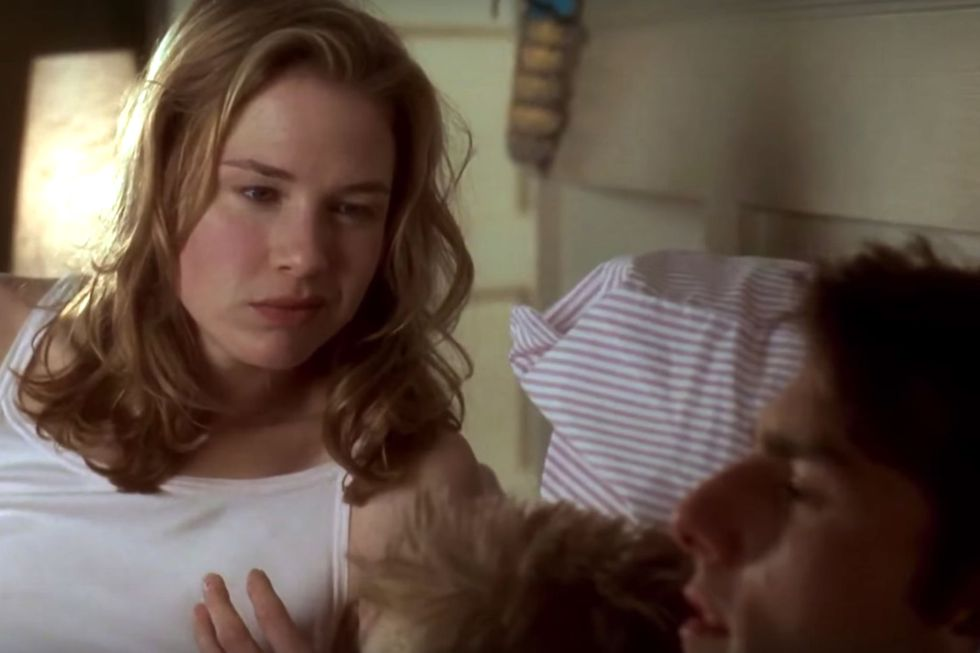 "Jerry Maguire (1996) Why yes, of course the movie that brought us ""You had me at hello"" line belongs on this list. But Cameron Crowe's 1996 film is not an easy, breezy rom-com, as that line suggests."