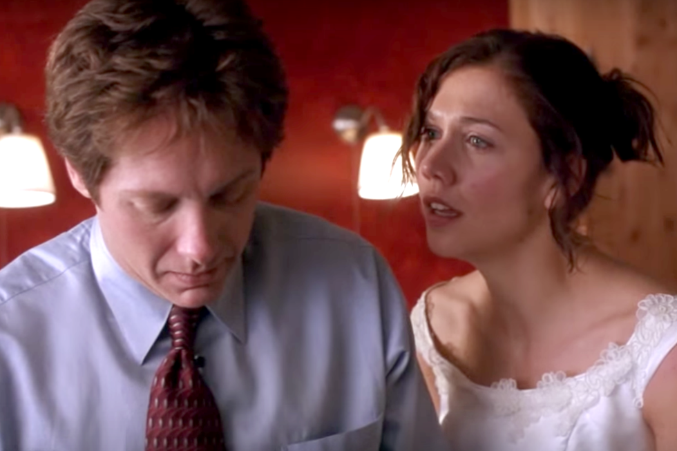 Secretary (2002) Did you realize James Spader was also named Mr. Grey in this far superior prototype of Fifty Shades ? But unlike the alarming lack of spark between Jamie Dornan and Dakota Johnson (I blame the former), the twisted BDSM romance between this Grey and his secretary Lee (Maggie Gyllenhaal) is far sexier and surprisingly heartfelt (especially considering both parties are very down with the sadomasochism).