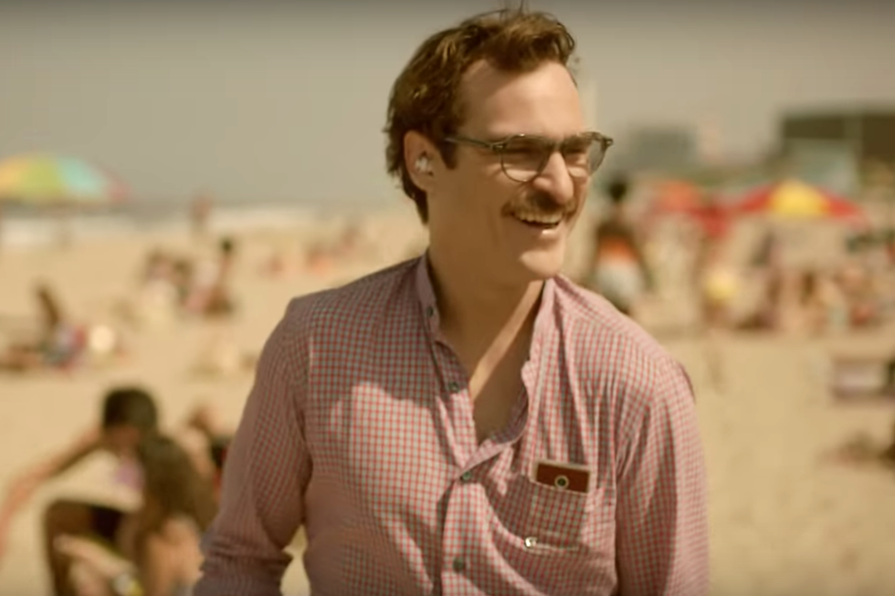 """Her (2013) It may have just been a really dark time in my life, but I couldn't leave my couch for three days after watching Her , Spike Jonze's android romance starring porn-stached Joaquin Phoenix and Scarlett Johansson's voice as Samantha, the Siri-esque technology Phoenix's Theodore starts """"dating."""" It initially seems like a silly premise, but Her boldly questions our notion of love—and, wait, why are my eyes so teary all of a sudden?"""