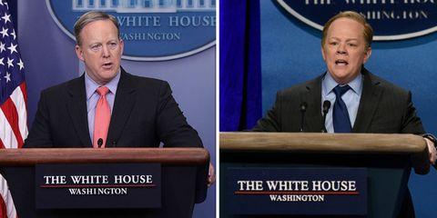 nagyszeru kinézet gyári hiteles alacsony ár Sean Spicer Responds to Melissa McCarthy's Portrayal on 'Saturday ...