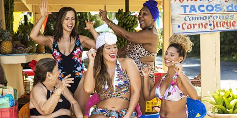Ashley Graham Recruits Regular Women of All Ages for Her New Swimwear Campaign