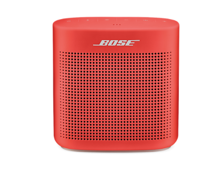 "<p>Bose, SoundLink Color Bluetooth Speaker II, $129; <a href=""https://www.bose.com/en_us/products/speakers/wireless_speakers/soundlink-color-bluetooth-speaker-ii.html?gclid=Cj0KEQiA2uDEBRDxurOO77Cp-7kBEiQAOUgKV_oliaON3i3paBhbAIz7ElF0ntfAu8bq0dEi0JTGTZYaAgoY8P8HAQ#v=soundlink_color_ii_red"">bose.com</a><span class=""redactor-invisible-space"" data-verified=""redactor"" data-redactor-tag=""span"" data-redactor-class=""redactor-invisible-space""></span></p>"