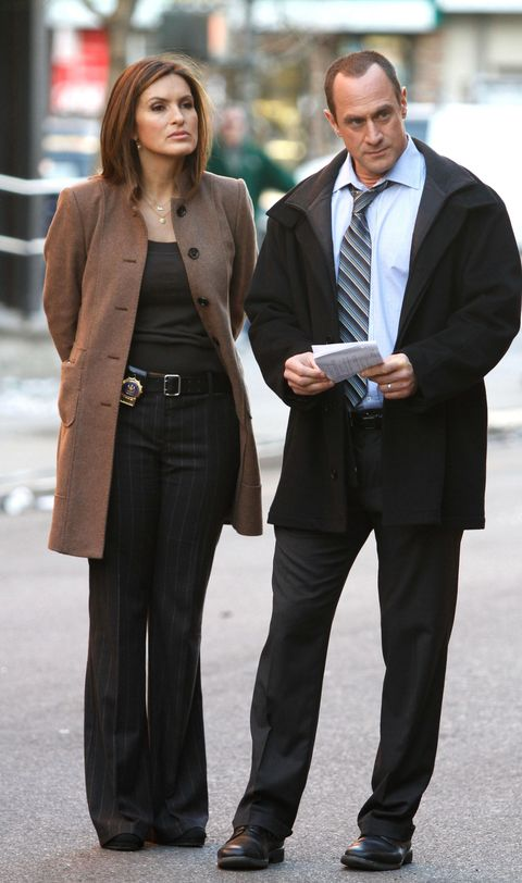 Benson and Stabler on Law & Order: SVU