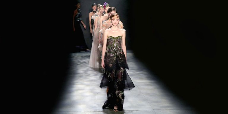 36 Looks From Marchesa Fall 2017 NYFW Show Marchesa Runway at