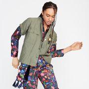 Sleeve, Style, Elbow, Pattern, Active pants, Camouflage, Fashion design, Pajamas, Pocket, Pattern,