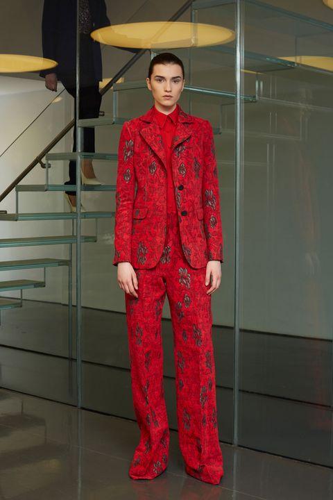 Sleeve, Fashion design, Costume design, Stairs, Costume, Overcoat, Umbrella, Pocket, Vintage clothing, Pajamas,