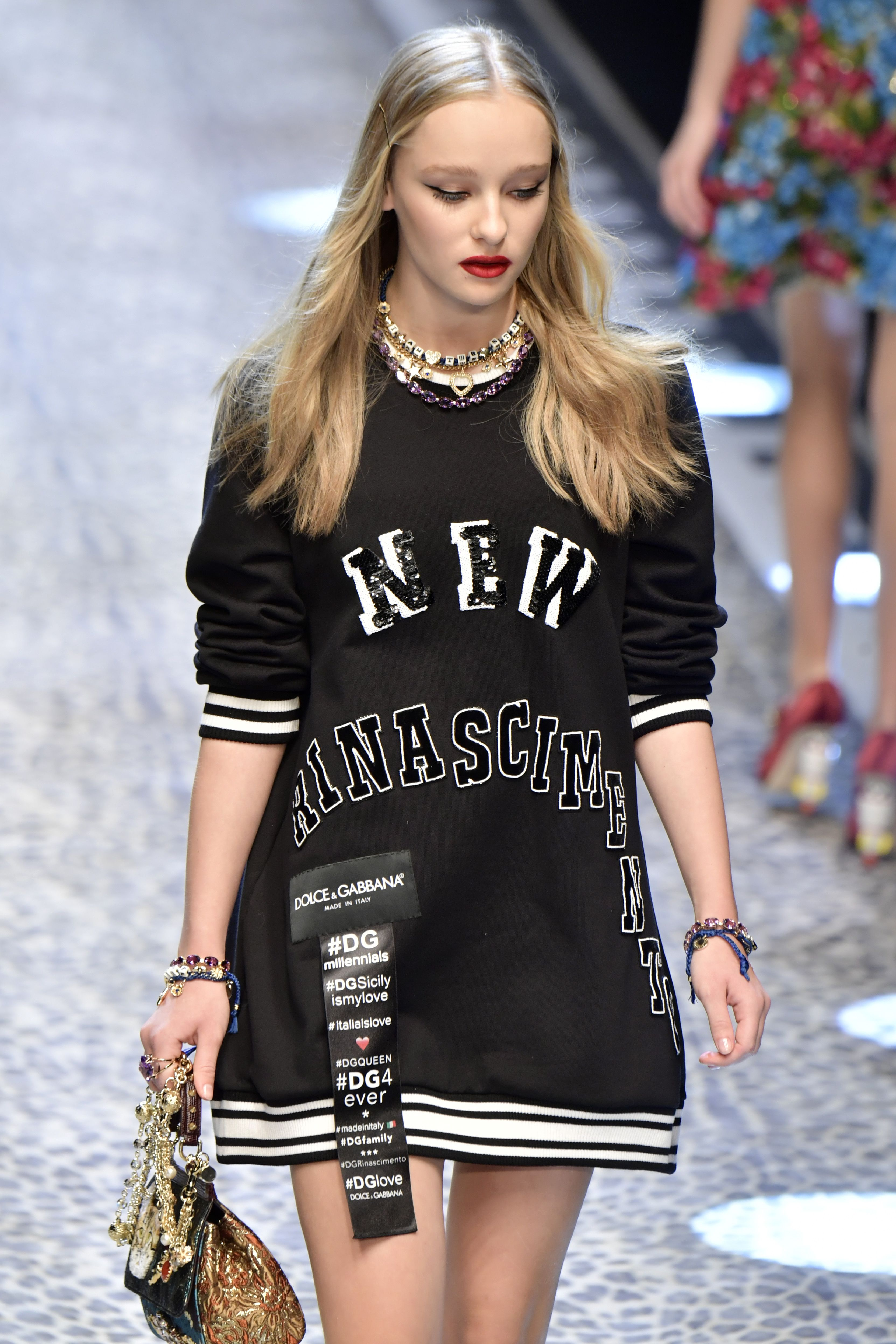 A Guide to the 47 Famous  Real  People Who Just Walked the Dolce   Gabbana  Catwalk 6f0d06e93ed5e