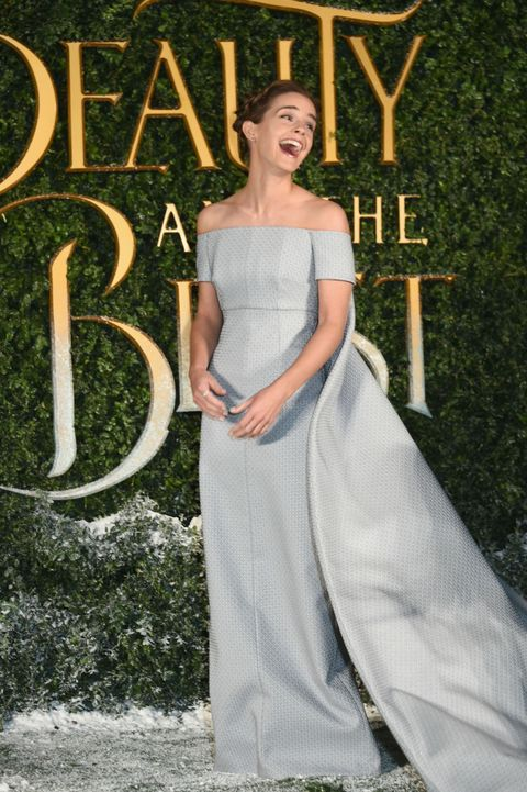 Emma Watson Wears Cinderella Esque Emilia Wickstead Dress At