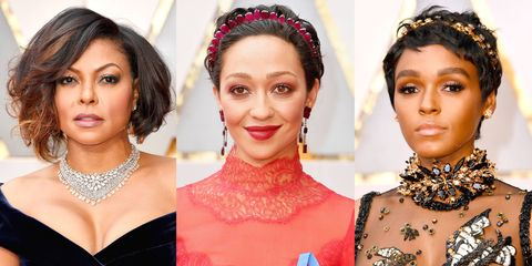 Best Oscars Hairstyles and Makeup Looks 2017 - Red Carpet Beauty ...