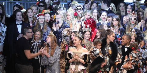 A Who s Who Guide to the 47  Real  People Who Just Walked the Dolce    Gabbana Catwalk 6c338eb6bf341