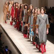 Dress, Fashion, Runway, Costume design, Fashion model, Fashion design, Fashion show, Haute couture, Hall, Vintage clothing,