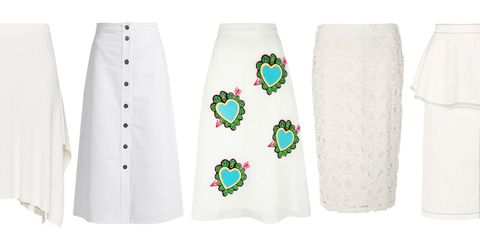 b77596f307 19 Cute White Skirts for Spring and Summer 2017 - Best White Skirts ...